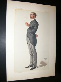 Vanity Fair Print 1882 George Errington